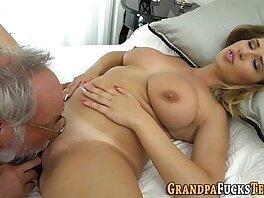 dick-grandpa-old man-riding